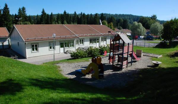 Bild på Furudals förskola.