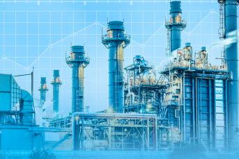 Bilden föreställer en fabrik