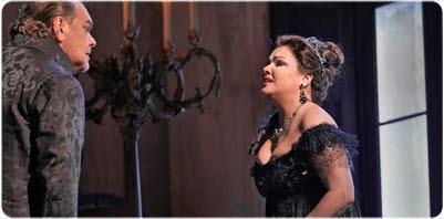 Bilden föreställer operan Tosca