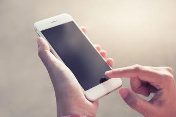 Bild på en smartphone.