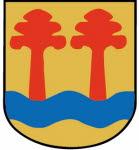 Bilden föreställer Timrå kommuns vapen.