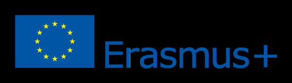 Bild på logotypen för Erasmus plus