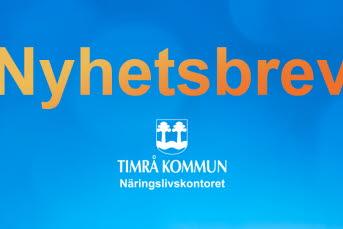 Bilden föreställer en logo Nyhetsbrev