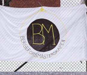 Bild på Bergeforsmästerskapens flagga