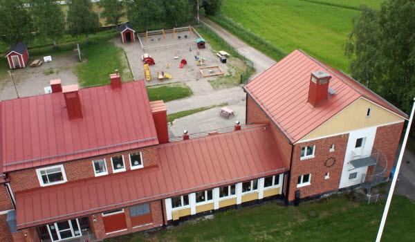 Bild på Ljustorps förskola.