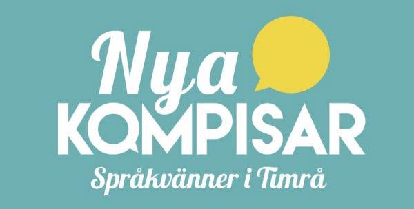Bilden visar logotypen för Nya kompisar -Språkvänner i Timrå