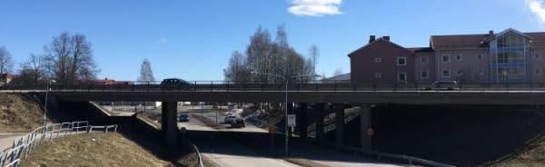 Bro över landsväg