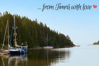 Bilden föreställer en båtplats i Timrå.