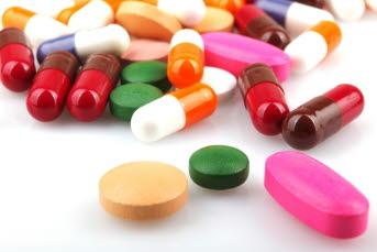 Bilden föreställer läkemedel