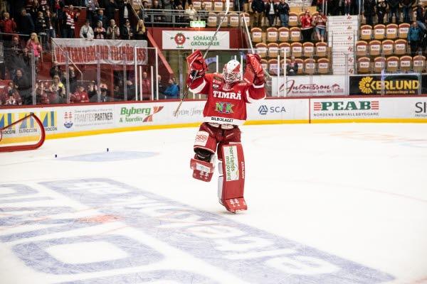 Bilden föreställer en Timrå IK-spelare.