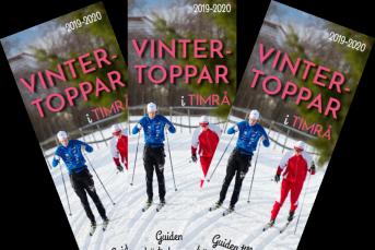 Bilden föreställer framsidan på magasinet Vintertoppar i Timrå
