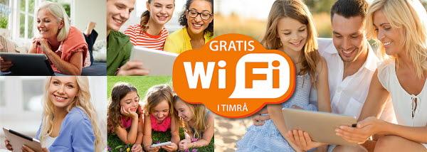 Gratis WIFI/nätverk