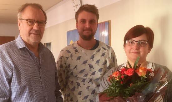 Per-Arne Frisk, Johannes Löfquist, Emma Salomonsson