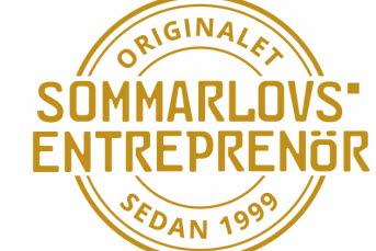 Bilden föreställer sommarlovsentreprenörernas logotyp.