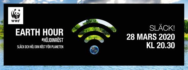 Earth Hour 28 mars 2020