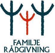 Bilden visar logotyp för familjerådgivning