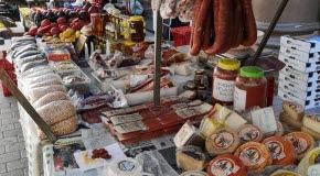 Bilden föreställer en spansk matmarknad.