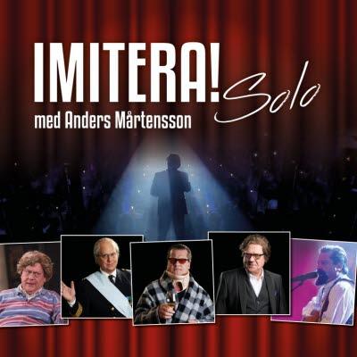 Bilden föreställer en affisch om föreställningen Imitera! Solo