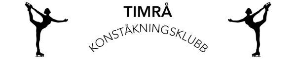 Bilden föreställer symbolen för Timrå konståkningsklubb