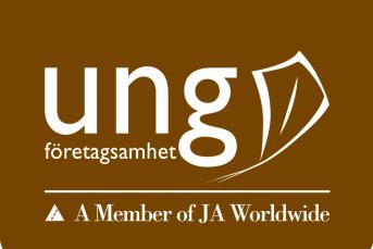 Bilden föreställer Ung företagsamhet logotyp