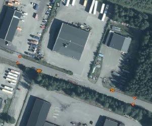 Kartbild över Svarvarvägen