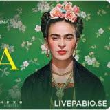 Bilden föreställer en affisch på evenemanget Frida Viva La Vida