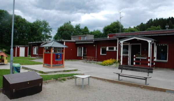 Bild på Timrådalens förskola.