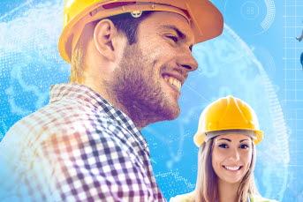 Bilden föreställer en man och en kvinna