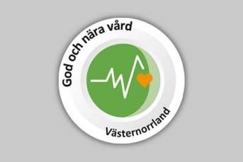 Symbol God och nära vård Västernorrland