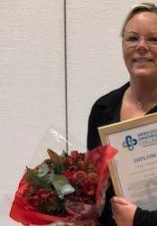 2020 års handledare inom Timrå kommun, Ulrika Ylisuutaro, Hagalid