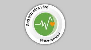 Symbol en god och nära vård i Västernorrland