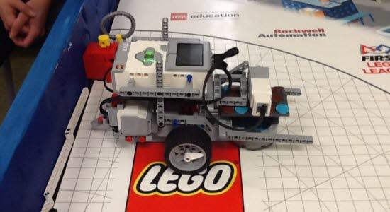 Bild på legorobot