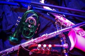 Bild på blåsinstrument.