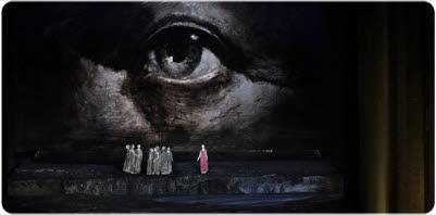 Bilden föreställer operan Den flygande holländarne