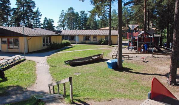 Bild på Tallnäs förskola.