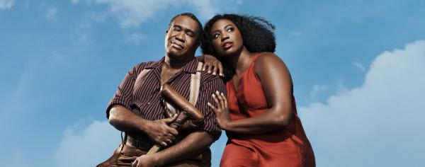 Bilden föreställer operan Porgy and Bess