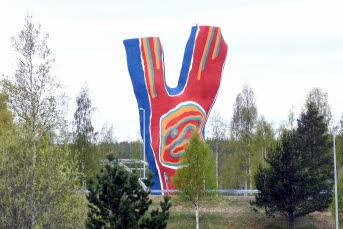 Bilden föreställer Y:et i Timrå
